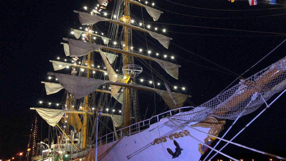 Ship Parade in Klaipeda